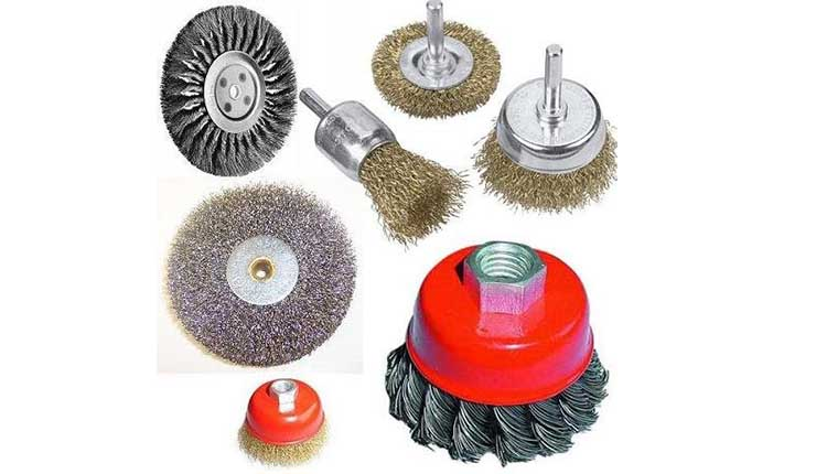 فرچه های سیمی صنعتی - ابزار برقی