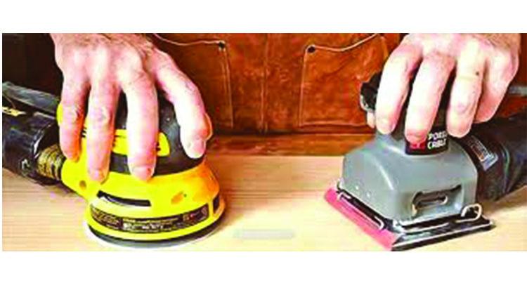 تفاوت سنباده گردان با سنباده لرزان - ابزار صنعتی - ابزار آلات برقی